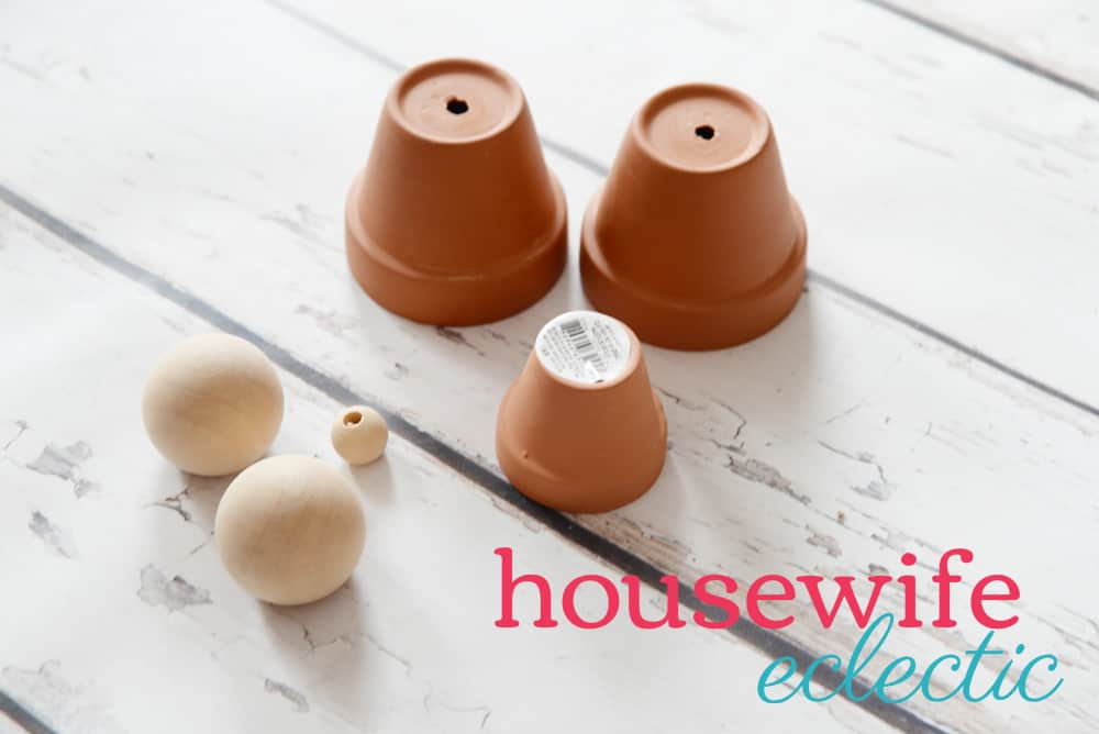 Housewife Eclectic: Easy DIY Terra Cotta Nativity