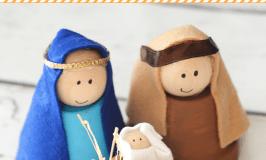 Easy DIY Terra Cotta Nativity