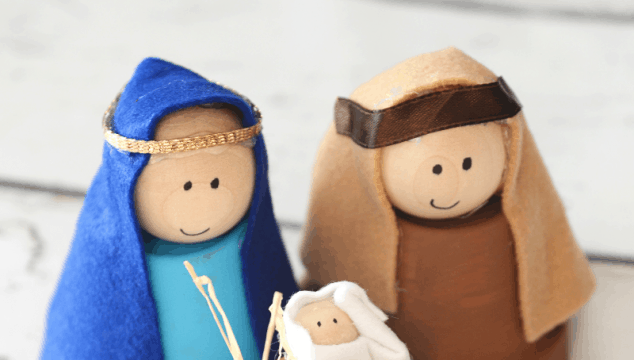 Easy DIY Terra Cotta Nativity