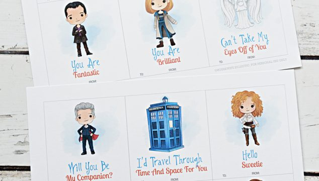 Free Printable Doctor Who Valentines