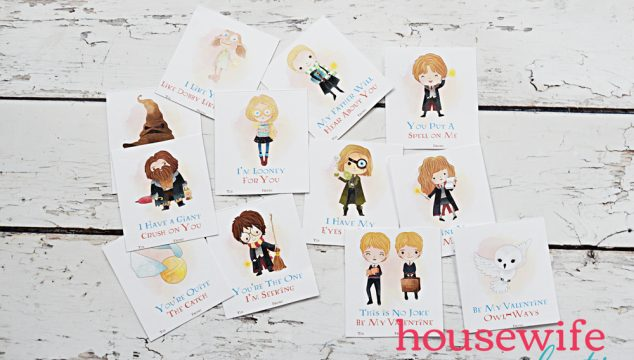 Free Printable Harry Potter Valentines