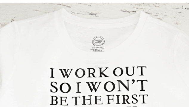 Zombie Apocalypse Workout T-Shirt