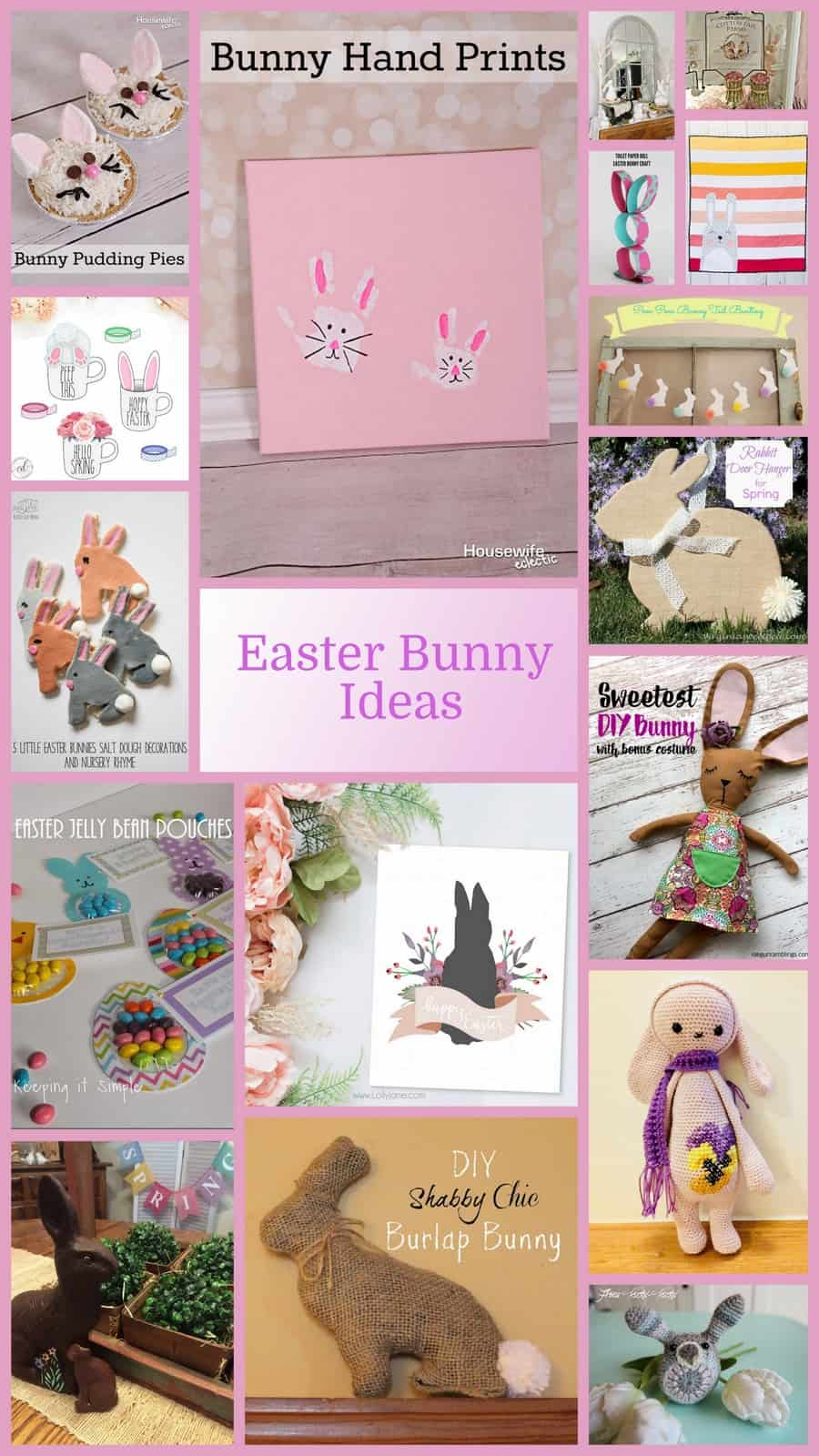 Easter Bunny Craft And Recipe Ideas Keeping