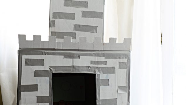 How To Make An Easy Cardboard Castle