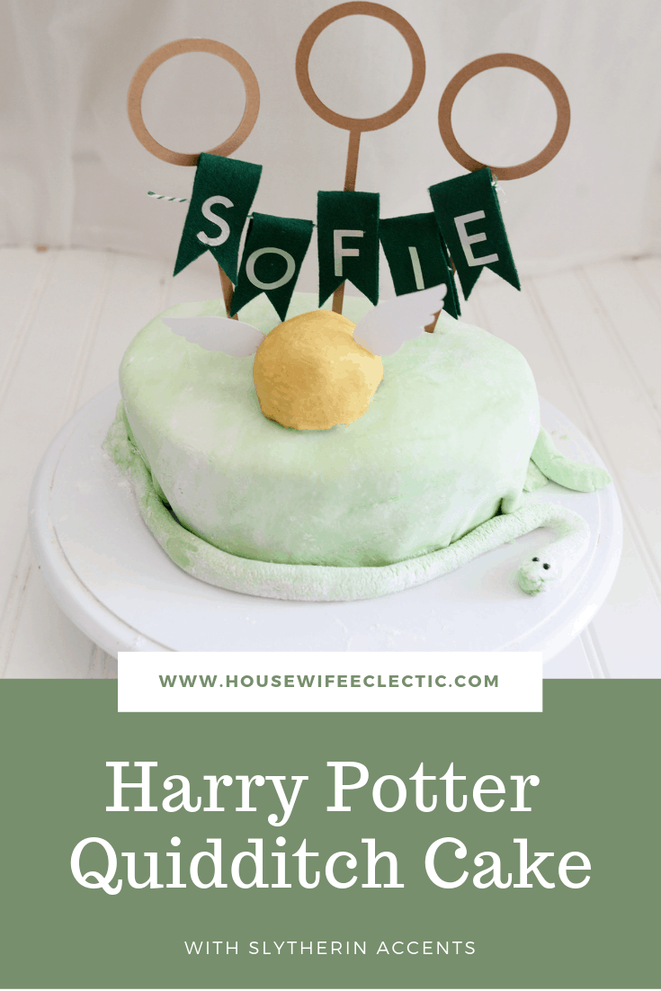 Harry Potter Quidditch Cake Housewife Eclectic