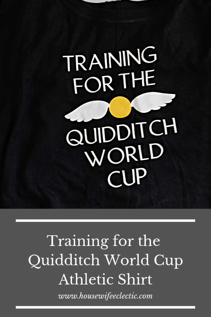 Geeky Athletic Shirts with Cricut - Harry Potter Shirt