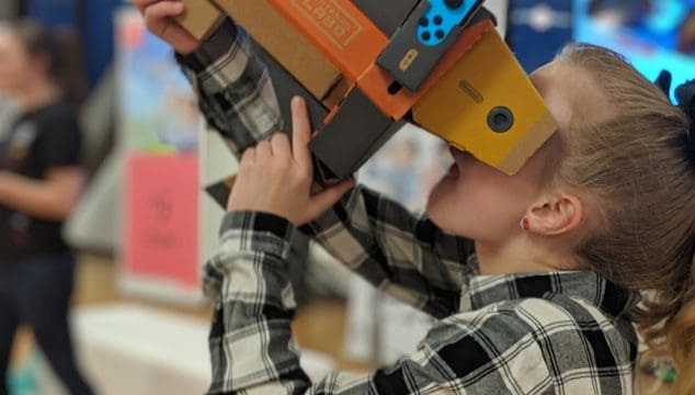 Nintendo Labo VR – What Virtual Reality Was Meant To Be
