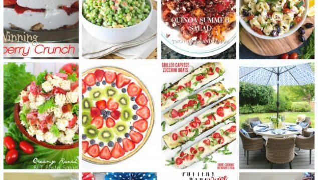 Memorial Day Recipes and Crafts