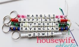 Easy DIY Harry Potter Keychains
