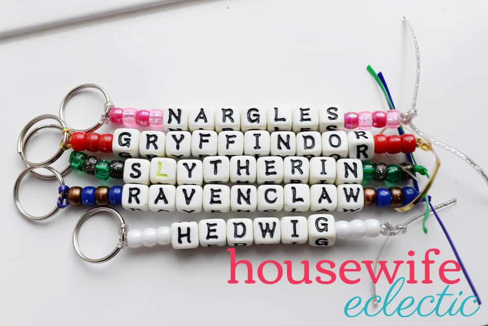 Harry Potter Keychains: Hogwarts Houses
