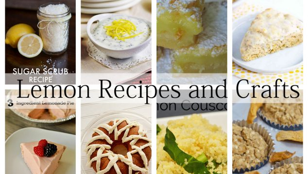 Lemon Recipes and Crafts