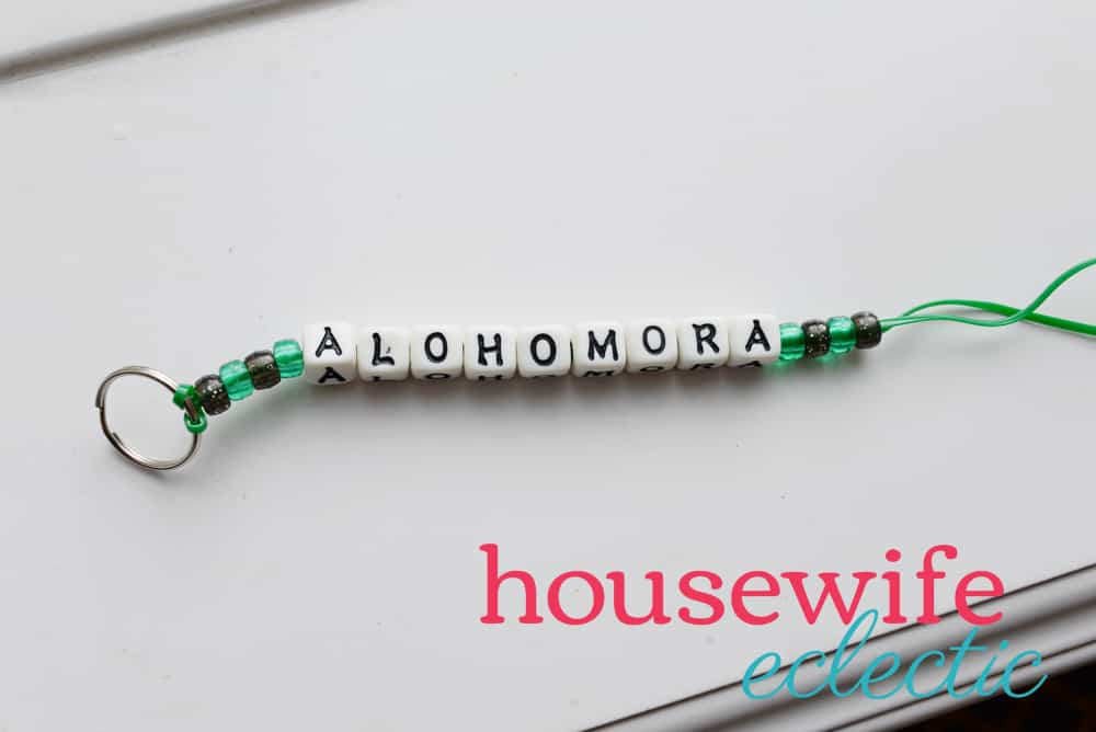 Harry Potter Keychains: Alohomora