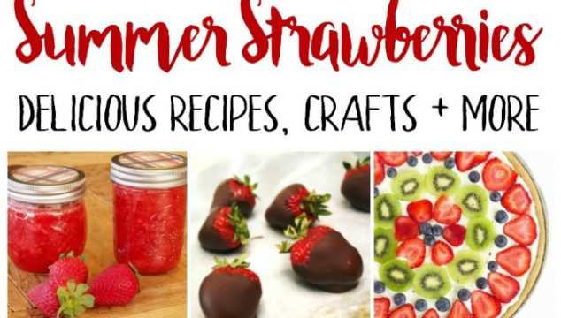 Summer Strawberries – Delicious Recipes and Crafts!