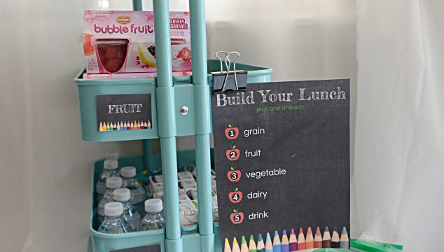 How To Help Kids Make Their Own Lunch