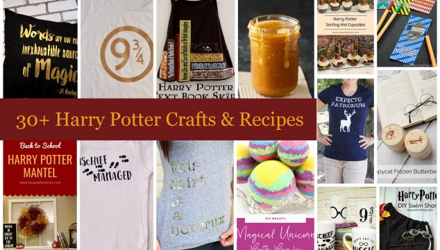 30+ Harry Potter Crafts and Recipes