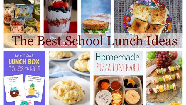 The Best School Lunch Ideas