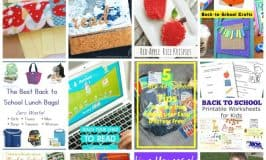 Back To School Ideas and Crafts