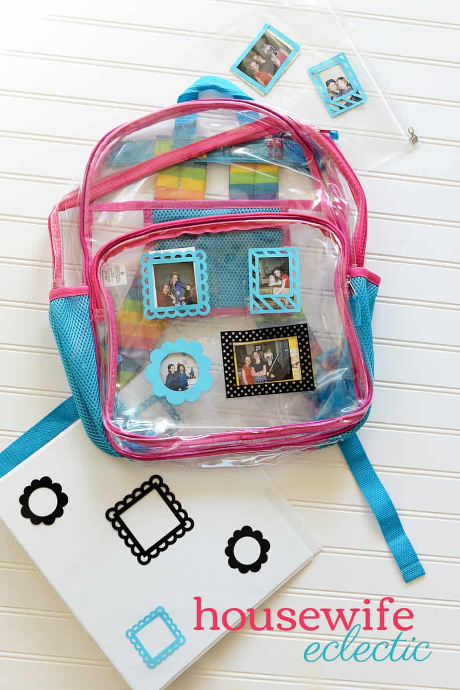 Housewife Eclectic: Instant Photo Frame Backpack