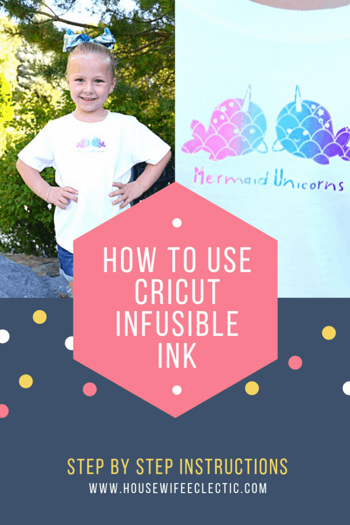 Housewife Eclectic: How To Use Cricut Infusible Ink Sheets