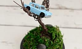 Harry Potter DIY Wire Whomping Willow