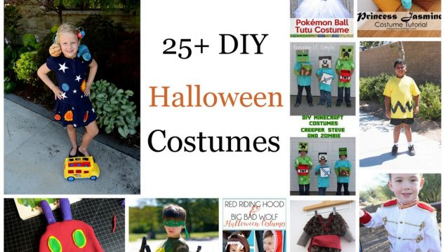 25+ DIY Halloween Costumes