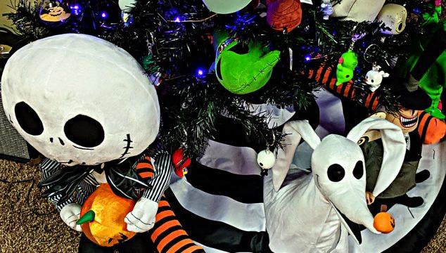 The Nightmare Before Christmas Tree Snake