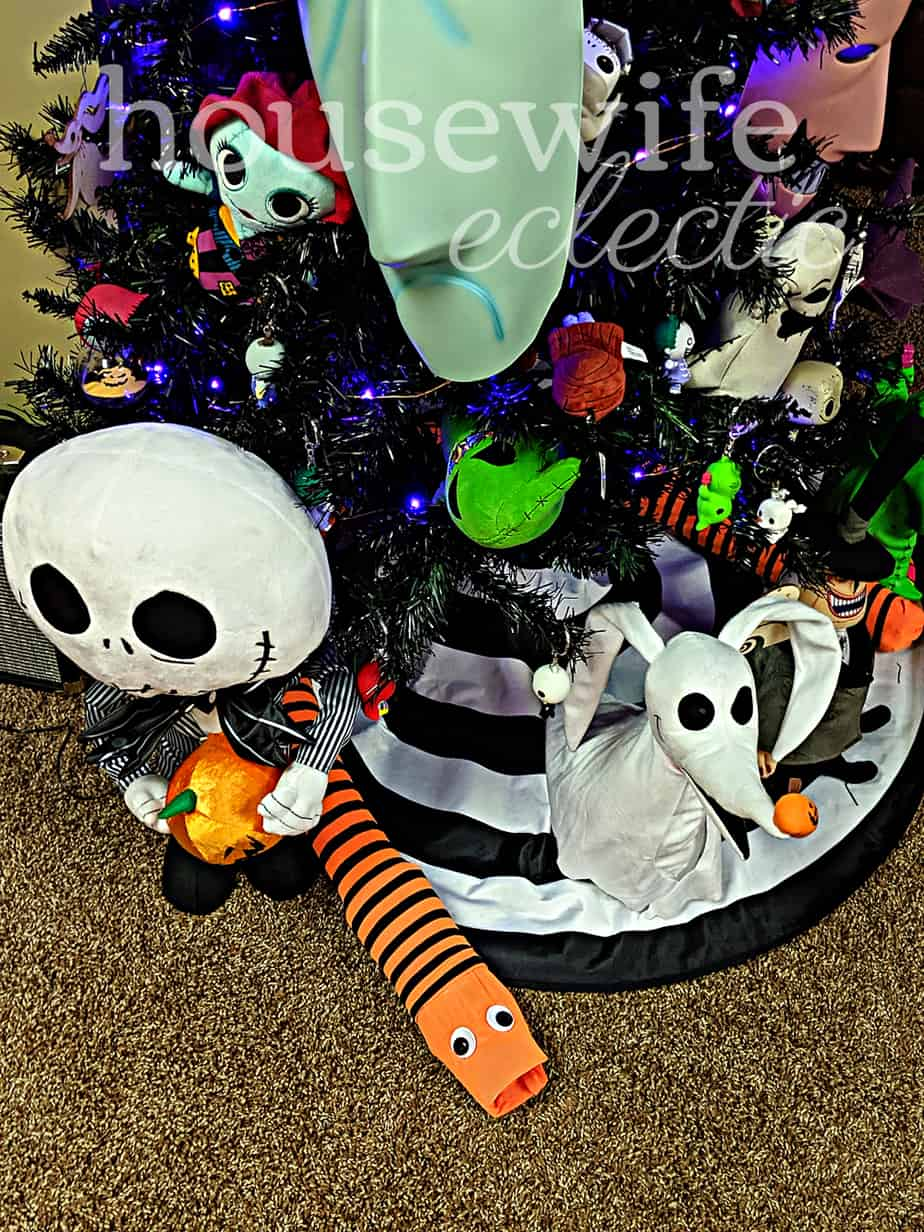 The Nightmare Before Christmas Tree Snake Housewife Eclectic