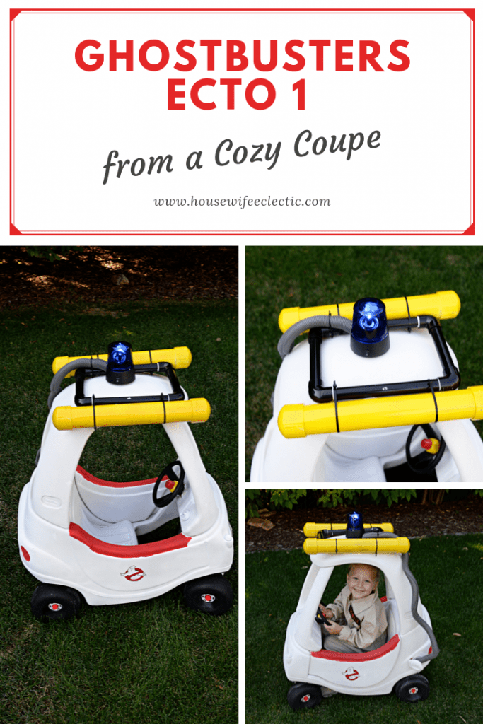 Housewife Eclectic: Ecto 1 Cozy Coupe
