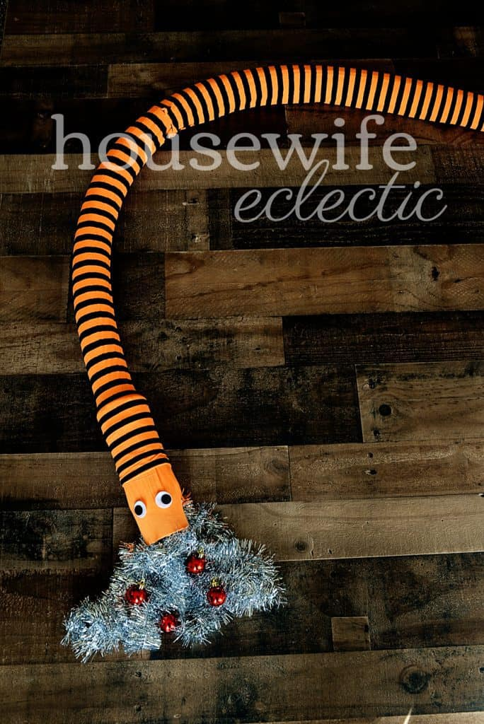 Housewife Eclectic: Nightmare Before Christmas Tree Snake