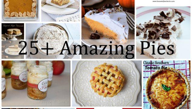 25+ Amazing Pies