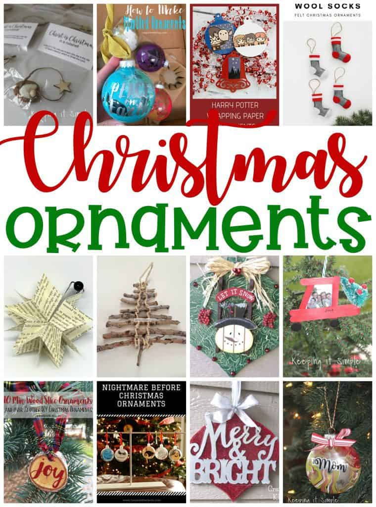 Diy Christmas Ornaments Housewife Eclectic
