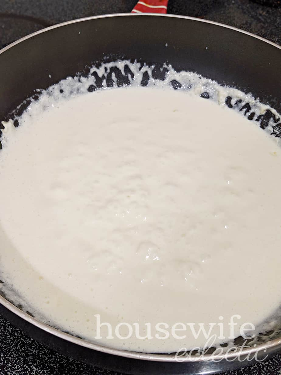 Housewife Eclectic: Gluten Free Fettuccine Alfredo