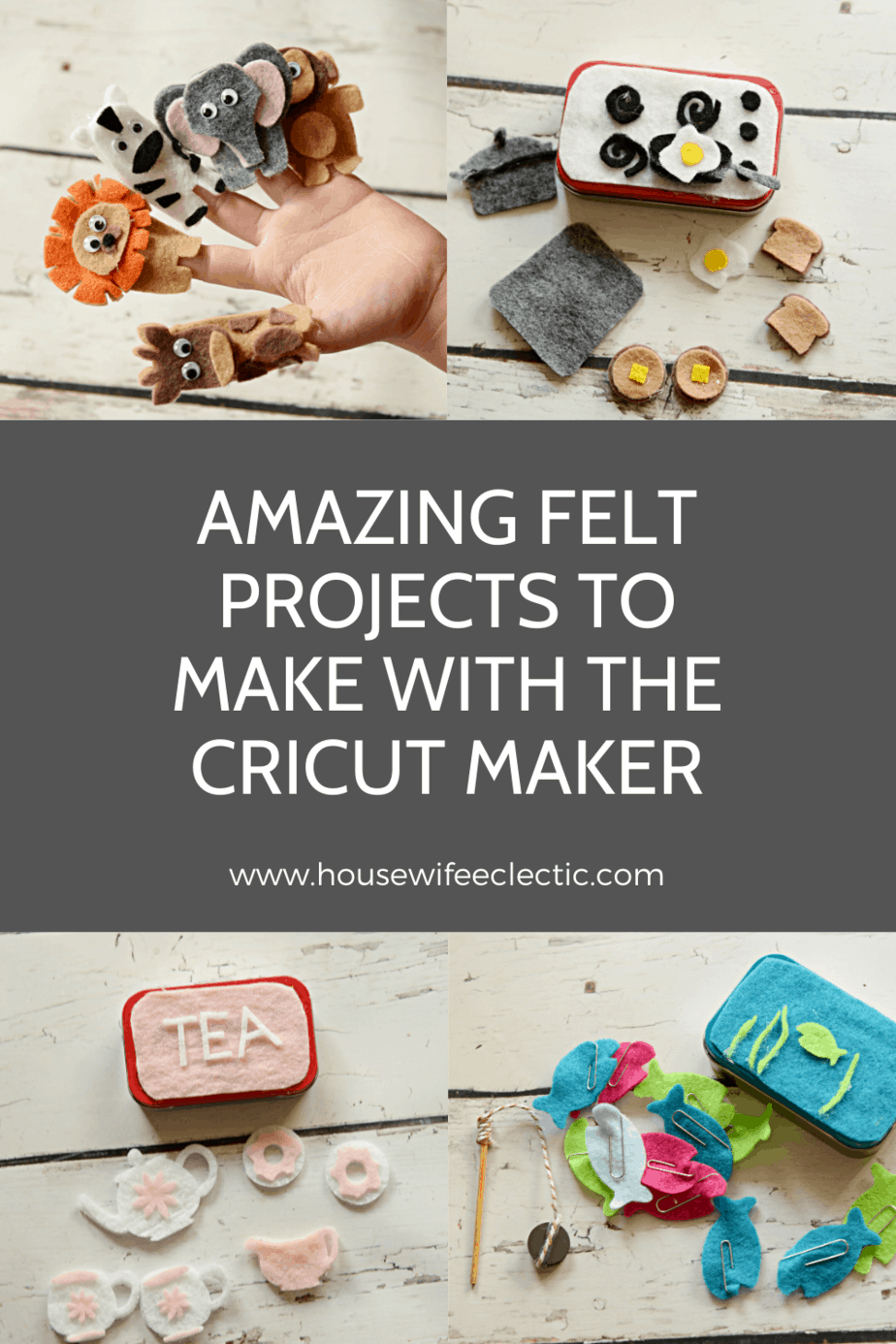 Amazing Felt Projects To Make With The Cricut Maker