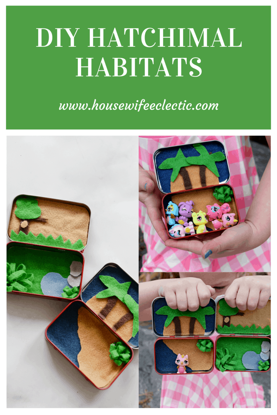 Housewife Eclectic: DIY Hatchimal Habitats