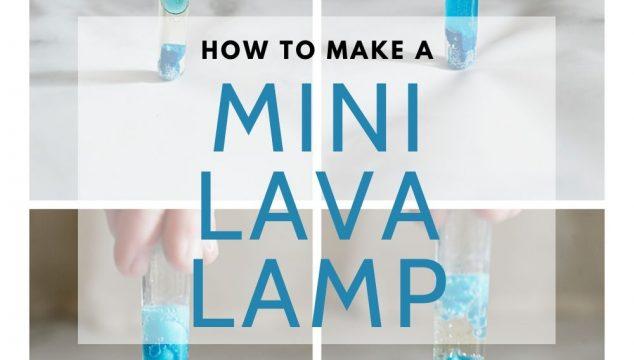 How to Make a Mini Lava Lamp