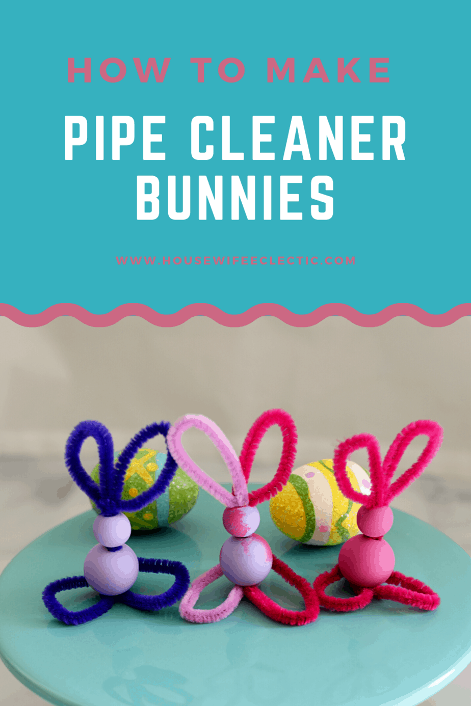 Housewife Eclectic: Pipe Cleaner Bunnies