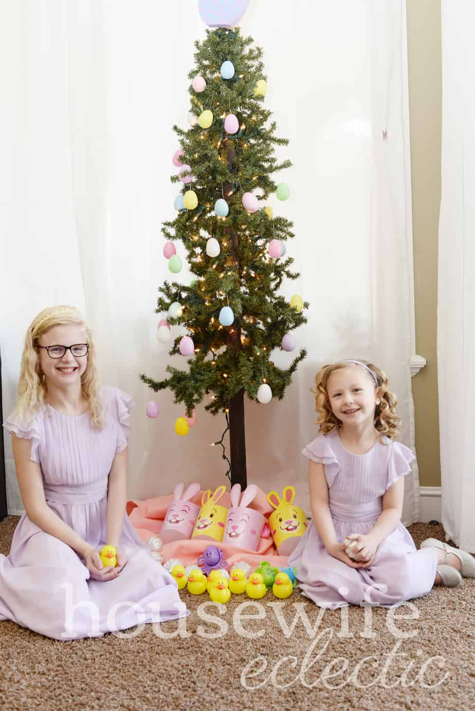 Housewife Eclectic: Easter Tree