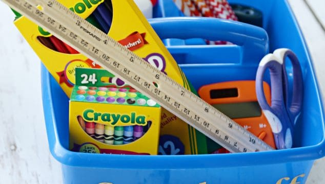 5 Clever Ways to Organize Homework Supplies