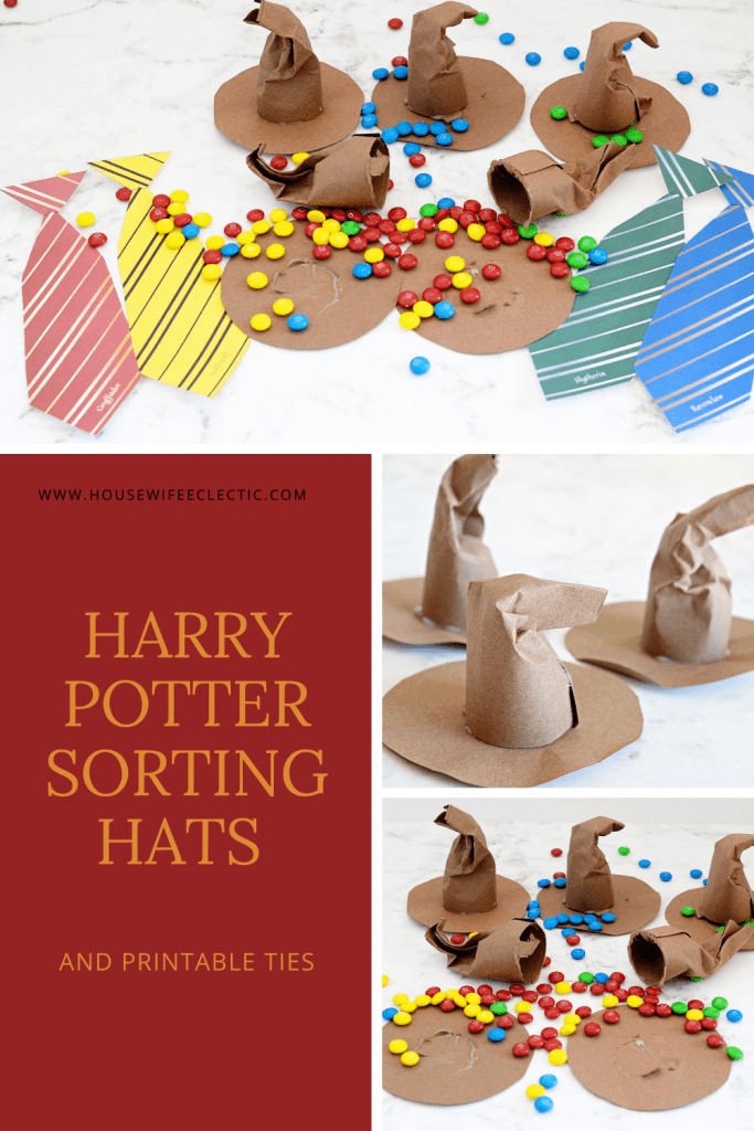 Housewife Eclectic: Harry Potter Sorting Hats