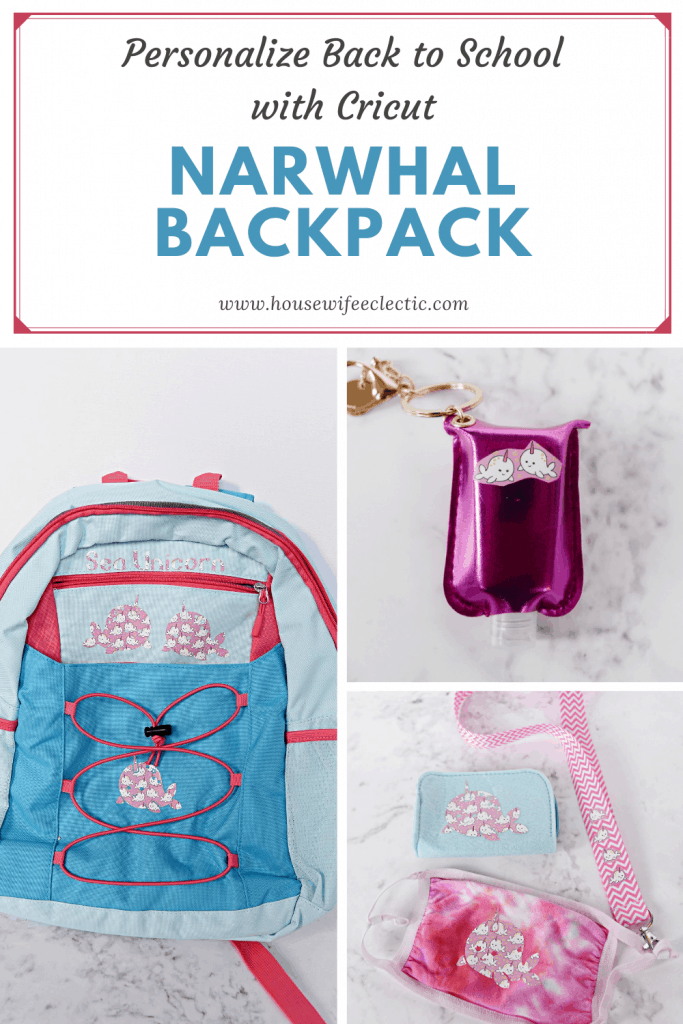 Personalize Back to School with Cricut
