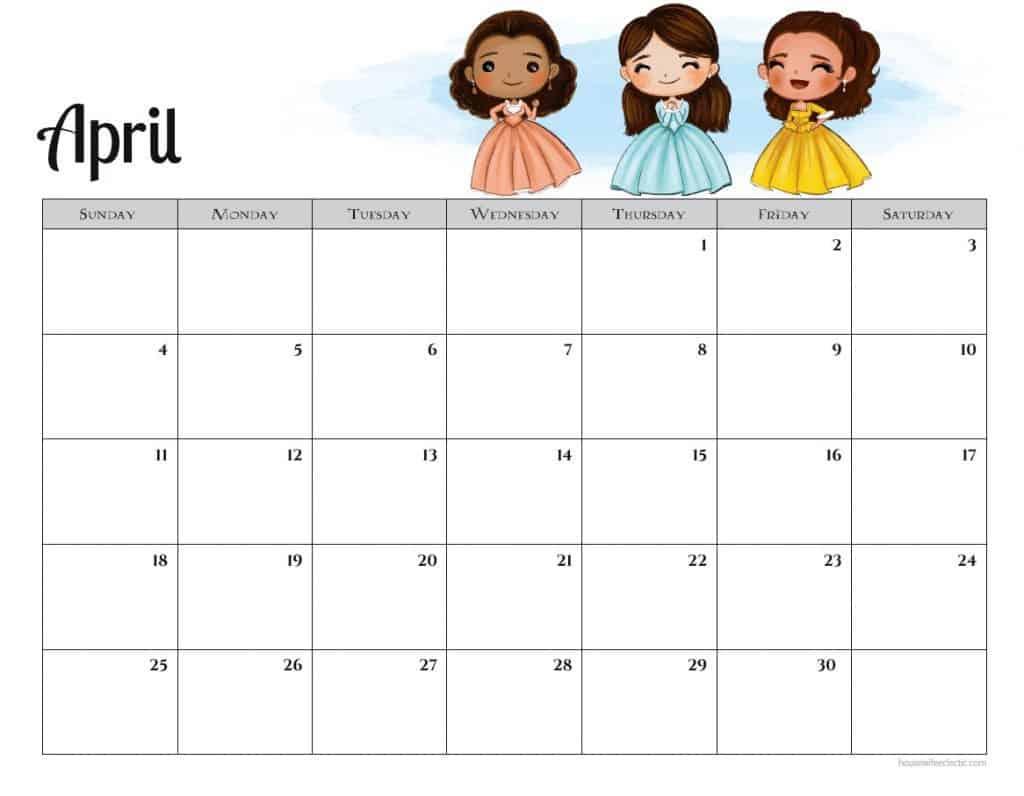 Free Hamilton Calendar